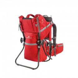 Baby Carrier Backpack Caribou Red Ferrino 01