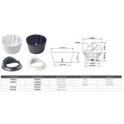 Led serie Delfi - Bianco a luce Rossa FNI 01