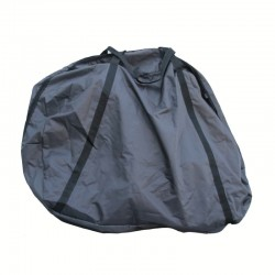 Black folding bike carrier bag MVTEK