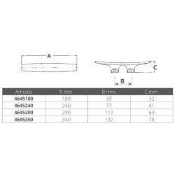 Black waterproof handlebar SHELTER bag AGU
