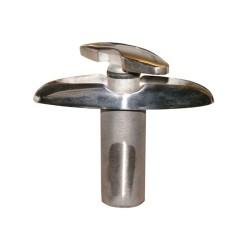 Large black waterproof rear SHELTER bag AGU