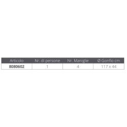 Rear saddlebag VENTURE blue-brown AGU