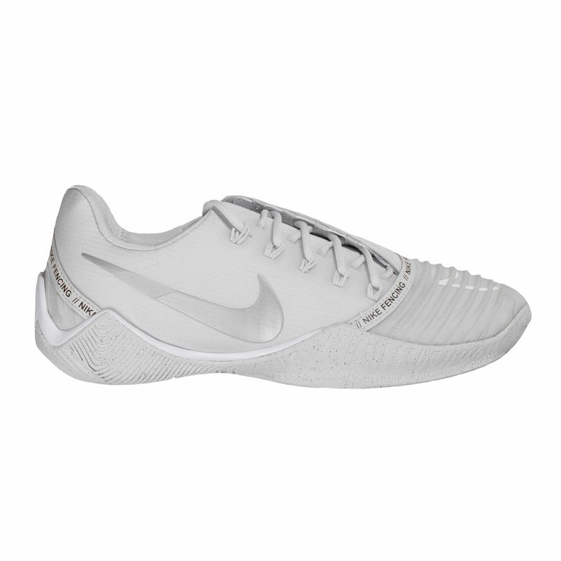 Fencing shoes NIKE BALLESTRA 2 white 01
