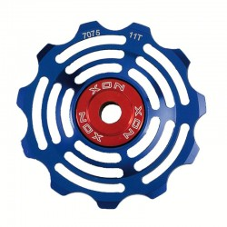 Shifter pulleys 11T CNC blue XON