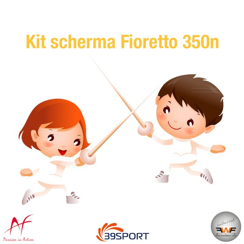 Fencing Kit 350n Foil full alfafencing 01