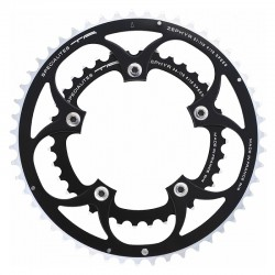 Chainring 36 Teeth 9/10S BCD 110mm Black 5 Arms