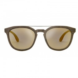 Brown TAENGA glasses PLASTIMO 01
