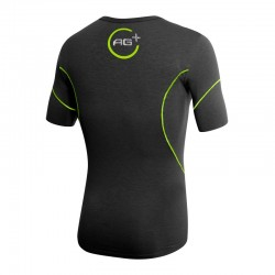 T-shirt AG+ Uomo BlackGreen rear