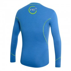 Fencing Long Sleeve T-Shirt AG+ Man BlueGreen rear