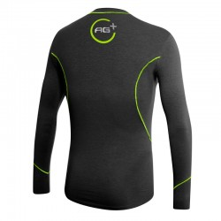 Fencing Long Sleeve T-Shirt AG+ Man BlackGreen rear
