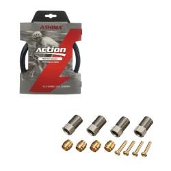 Fencing Long Sleeve T-Shirt AG+ Woman BlueOrange rear