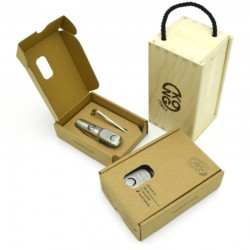 Swivel Anchor Connector - Stainless Steel - Box