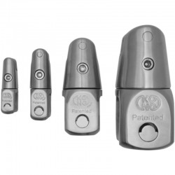 Swivel Anchor Connector - Stainless Steel - KONG 01