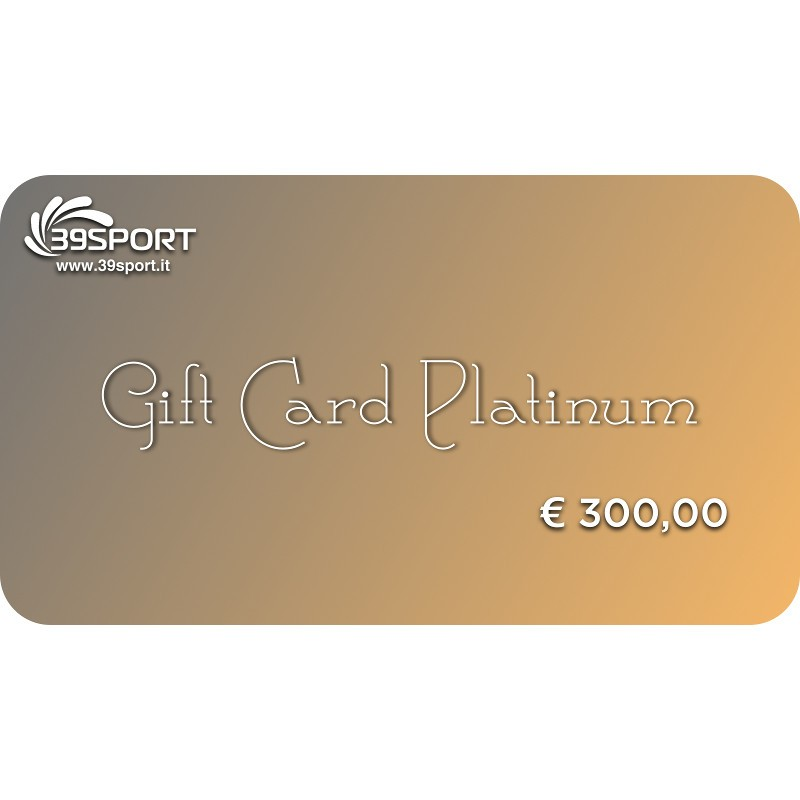 Gift Card Platinum 300 IT