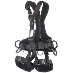GOLDEN Top Evo Alu Black - Harness CAMP front