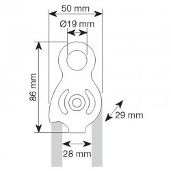 SPHINX  PRO - Carrucola CAMP misure
