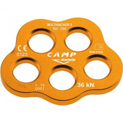 MULTIANCHOR 5 - Belay plate CAMP