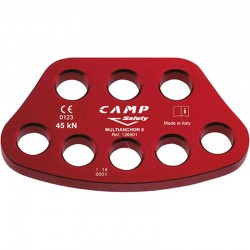 MULTIANCHOR 8 - Belay plate CAMP