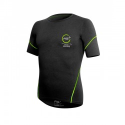 T-shirt AG+ Man BlackGreen front