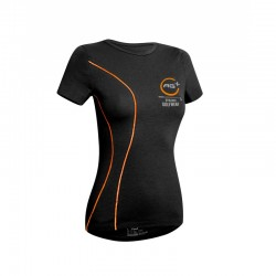 T-Shirt AG+ Woman BlackOrange front