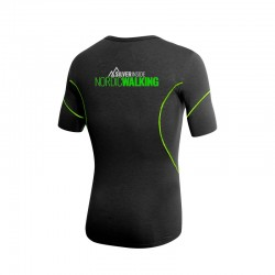 T-Shirt Nordic Walking AG+ Uomo blackgreen 04