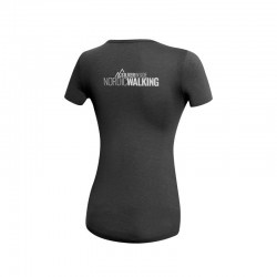 T-Shirt Nordic Walking AG+ Donna blackgreen 04