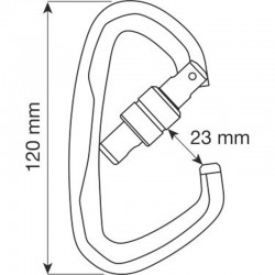 ATLAS LOCK Size - Carabiner CAMP