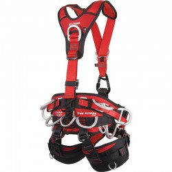 TREE Access Evo + GT Chest Rear - Sit Harness CAMP