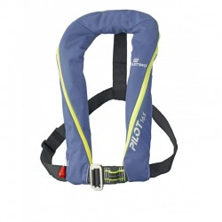 Lifejacket PILOT 165N Blue manual with PLASTIMO