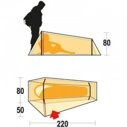 Tenda LIGHTENT 1 Misure - FERRINO