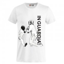 T-shirt basic 01 In Guardia Just Fencing