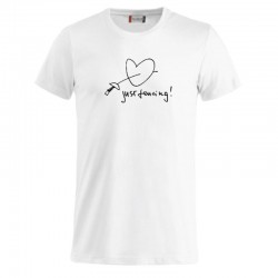 T-shirt basic 03 Just Fencing