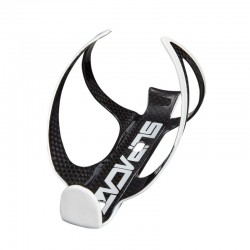 Bottle cage Fly Cage Carbon white/black Supacaz