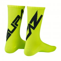 Cycling socks SUPASOX Twisted black/yellow Supacaz