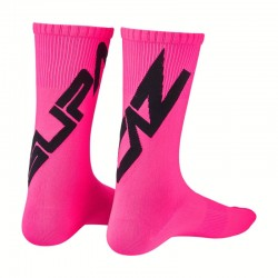 Cycling socks SUPASOX Twisted black/pink Supacaz