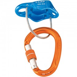 Discensore PIU 2.0 Belay Kit Blu - CAMP