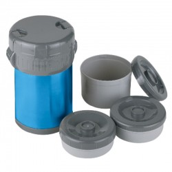 INOX LUNCH JUG WITH CONTENITORS