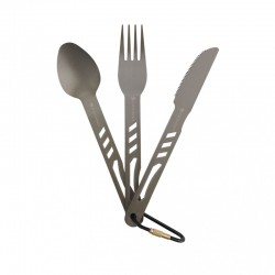 Set Cutlery Alluminium - Ferrino