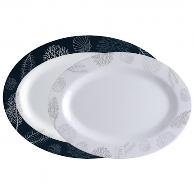 Living oval tray Marine Business