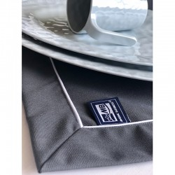 anthracite tablecloth 115x100 Marine Business 02